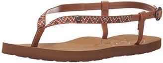 Roxy Women's Rosarito Sandals Flat Sandal $15.99 thestylecure.com
