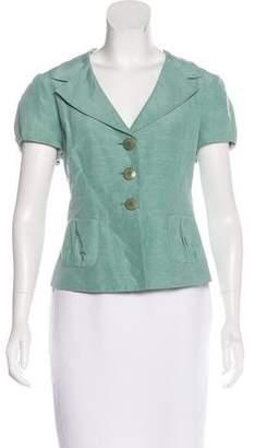 Armani Collezioni Short Sleeve Blazer