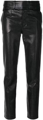 Saint Laurent biker skinny trousers