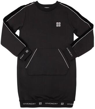 Givenchy Cotton Blend Jersey Sweater Dress