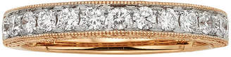 JCPenney MODERN BRIDE 1/2 CT. T.W. Certified Diamond 14K Rose Gold Wedding Band
