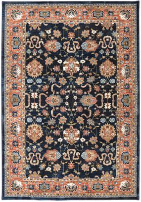 "Karastan Spice Market Zargos Sapphire 5'3"" x 7'10"" Area Rug"