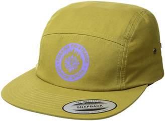 Volcom Men's Hot Visions 4 Panel Adjustable Custom Jocky Hat