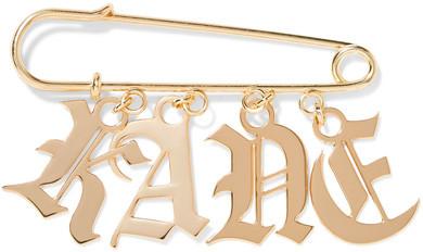 Christopher KaneChristopher Kane - Gold-tone Brooch - one size