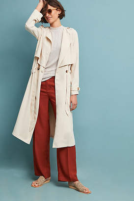 Greylin Portland Draped Trench Coat