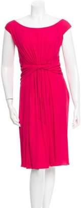 Giambattista Valli Silk Midi Dress