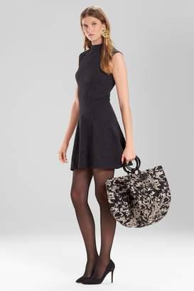 Natori Josie Knit Jacquard Dress
