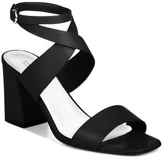 Via Spiga Evelia Ankle Tie Block Heel Dress Sandals xpHywK5N