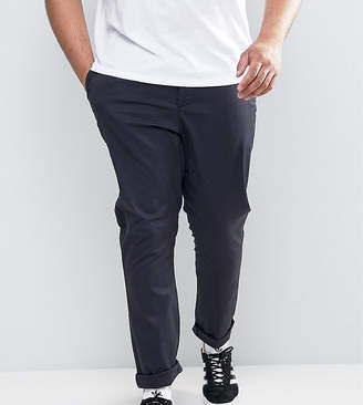 Asos PLUS Skinny Chinos In Navy