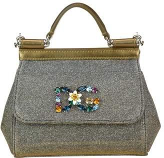 Dolce & Gabbana Mini Sicily Lurex Bag
