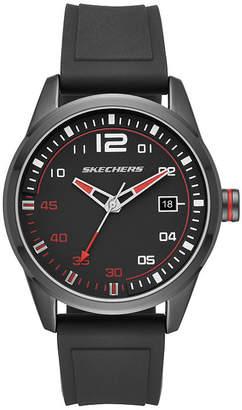 Skechers Slauson Mens Black Strap Watch-Sr5076