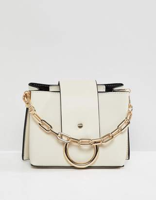 46cd30c8b65 at ASOS · Aldo Ibilasien bone structured cross body bag with metal ring  detail