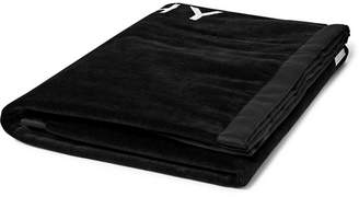 Givenchy Logo-Embroidered Cotton-Terry Towel - Black