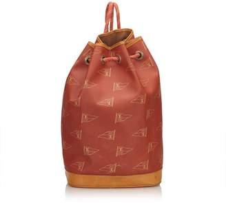 Louis Vuitton Vintage 1995 Cup St. Tropez Drawstring Backpack