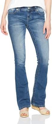 Miss Me Women's Embellished Pocket Boot Cut Denim Jean