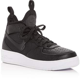 Nike Women's Air Force 1 Ultraforce Leather Mid Top Sneakers