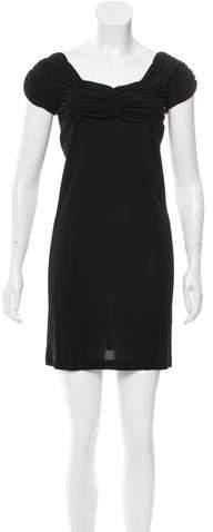Balenciaga  Balenciaga Gathered Mini Dress
