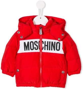 Moschino (モスキーノ) - Moschino Kids ロゴ ジャケット