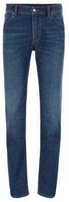 BOSS Hugo Regular-fit jeans in super-soft stretch denim 33/32 Blue