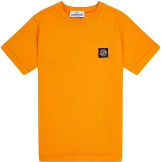 Stone Island Junior Short Sleeve Badge T-Shirt
