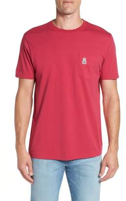 Psycho Bunny Applique Pocket T-Shirt