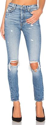 GRLFRND Karolina High-Rise Skinny Jean $248 thestylecure.com