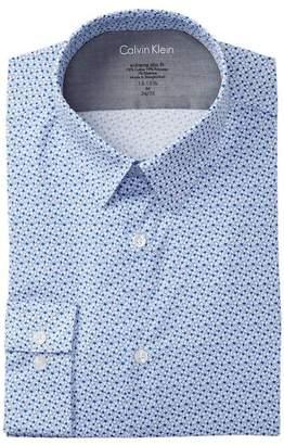 Calvin Klein South Beach Point Slim Fit Dress Shirt