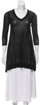 Rag & Bone Semi-Sheer Tunic Top