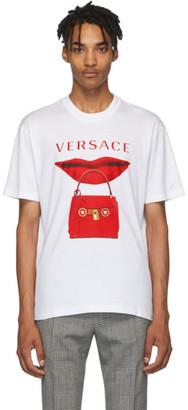Versace White Purse T-Shirt