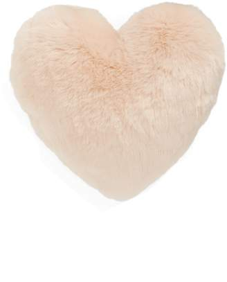 Nordstrom 'Cuddle Up' Faux Fur Heart Accent Pillow