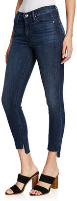 Black Orchid Miranda Wasted Time Off-Step Skinny Ankle Jeans