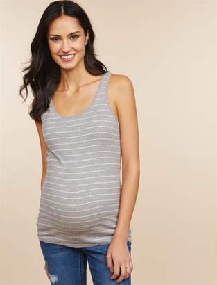Motherhood Maternity Rib Knit Maternity Tank- Solid
