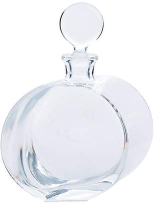 Global Views Offset Round Glass Decanter