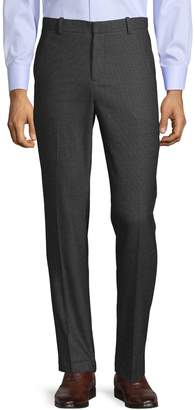 Perry Ellis Slim-Fit Heathered Suit Pants