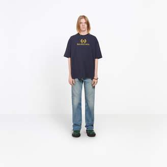 Balenciaga Cotton T-shirt with front 'BB Balenciaga' print
