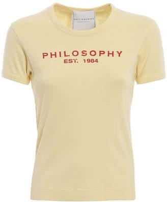 Philosophy di Lorenzo Serafini Philosophy Logo T-shirt