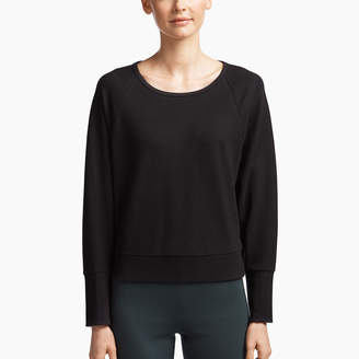 James Perse BRUSHED FLEECE RAGLAN PULLOVER