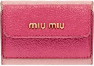Miu Miu colour-block wallet