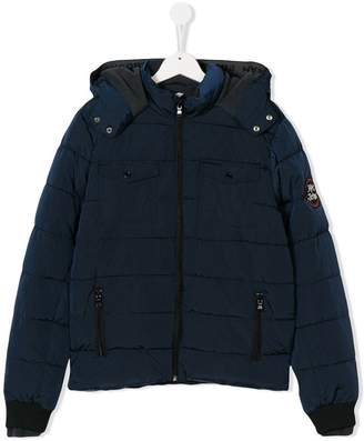 Little Marc Jacobs TEEN hooded padded jacket