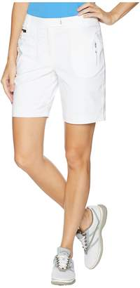 Jamie Sadock Airwear Lightweight Shorts with Front Zip and Button Closure Women's Shorts