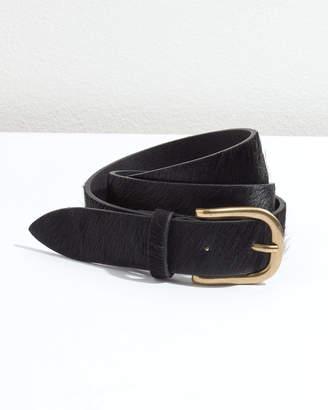 Jigsaw Cali Calf Hair Jeans Belt