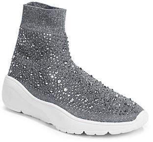 DESIGN LAB Embellished Sock Sneakers