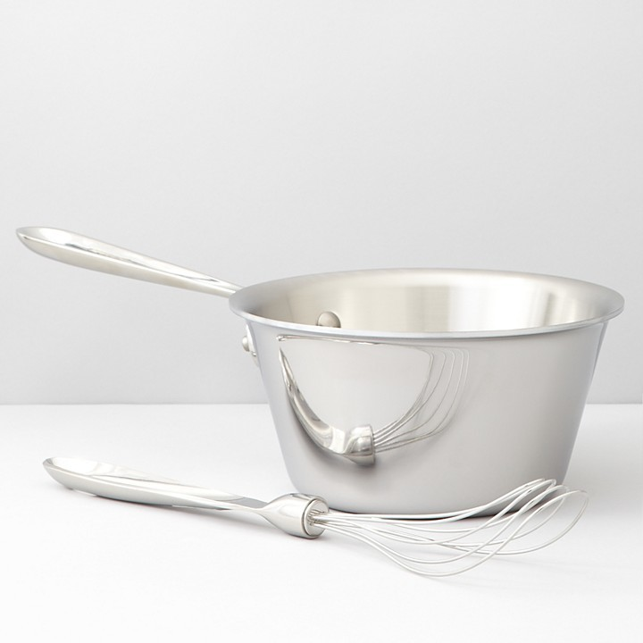 All-Clad Stainless Steel 1.5 Quart Windsor Pan & Whisk