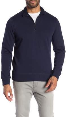 Toscano Long Sleeve Half Zip Sweater