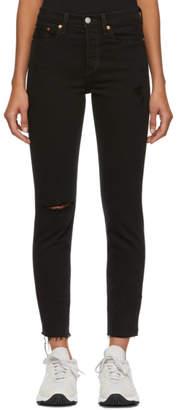 Levi's Levis Black Wedgie Fit Icon Jeans
