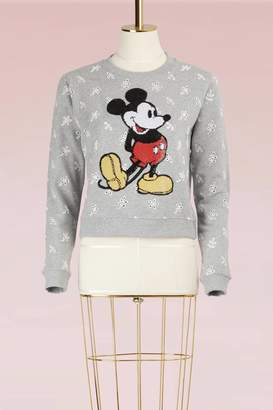 Marc Jacobs Broderie Anglaise Plaid Sweatshirt