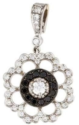 Penny Preville 18K Diamond Flowering Pendant white 18K Diamond Flowering Pendant