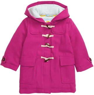 Boden Mini Hooded Duffle Coat