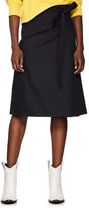 A PLAN APPLICATION Women's Cotton Twill Wrap Skirt