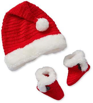 Okie Dokie Santa Hat Set Unisex Slip-On Shoe